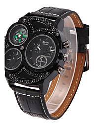Walking Oulm Dual Personality Fashion Quartz Watch
