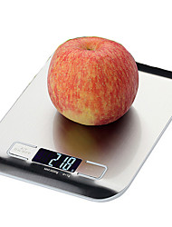 Indoor Stainless Steel Kitchen LED Scale 5KG