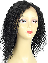 8A Malaysian Deep Wave Virgin Human Hair Wig Natural Hairline Weave Cheap Curly Front Virgin Hair wig with Baby Hair