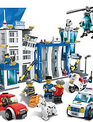 Blocos de Construir para presente Blocos de Construir Modelo e Blocos de Construção ABS 2 a 4 Anos 5 a 7 Anos 8 a 13 Anos Vermelho Azul