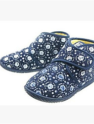 Boy's Loafers & Slip-Ons Spring / Fall Comfort Leatherette Casual Flat Heel Others Black / Blue / Red / White / Black and White Others
