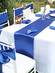1 piece 30cm x 275cm Satin Table Runner For Wedding Party Banquet Decoration Supply Top Quality