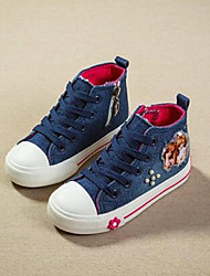 Girl's Sneakers Comfort Canvas Casual Blue