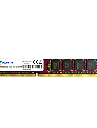 ADATA RAM 4Go DDR3 1600MHz Mémoire de bureau