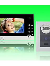 ACTOP 7inch écran couleur filaire interphone vidéo pour villasupport 1-2 moniteur zy-316210