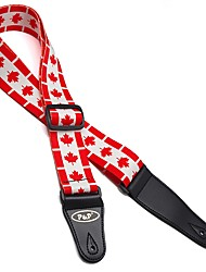 Acoustic Electric Dacron Guitar Strap  Electric Wound Guitar straps Bass Guitar Brand Straps