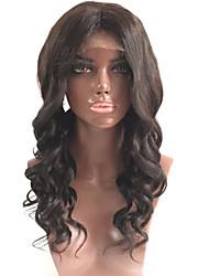 frente perucas de cabelo onda de renda brasileiro virgem para em branco mulher de 8-26 rendas frontais perucas de cabelo humano com cabelo