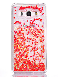 For Samsung Galaxy G530 Case Cover Small Fresh Series PC Material Love Quicksand Flash Powder Phone Case