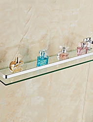 Bathroom Shelf / AnodizingGlass Aluminum /Contemporary