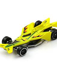 Машинки Формулы 1 Игрушки Игрушки на солнечных батареях 1:64 Металл Пластик Белый Модели и конструкторы