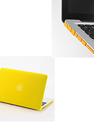 "Solid Colors Matte Full Body Hard Case with Dust Plug for Macbook Air 13.3 "" (Assorted Colors)"
