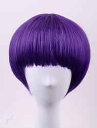 2017 the latest Europe and the United States short section Qi Liu BOBO head purple high temperature wire wig