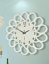 Contracted Rural Wall Clock Creative Mute When Sitting Room Watch Modern Art Decorative Wall Clock Quartz Bracket Clock
