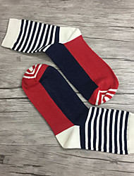 Men Medium Socks,Cotton Spandex
