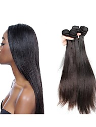 new arrival top 12a grade original brazilian silk straight virgin hair weaves 3bundles 300g lot natural black brown color soft and smooth texture
