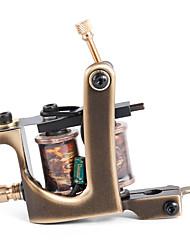 solong татуировки пользовательских латунь татуировки ручной пулемет 12 обруча чисто медные катушки для лайнера m203-1