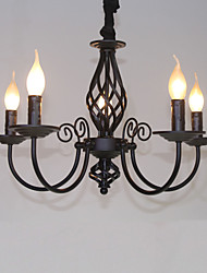 Chandelier ,  Modern/Contemporary Traditional/Classic Vintage Retro Others Feature for Mini Style Candle Style MetalLiving Room Bedroom