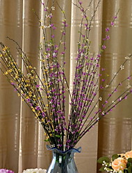 1 Ast Kunststoff andere Künstliche Blumen 90