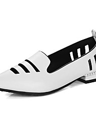 Women's Flats Spring Summer Fall Other PU Office & Career Party & Evening Dress Low Heel Others Black Red White Gold Other