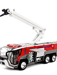 Fire Engine Vehicle Pull Back Vehicles 1:10 Metal Red