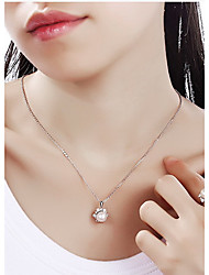 Pendants Pearl Basic Animal Design Fashion Pearl Pink Jewelry For Daily 1pc