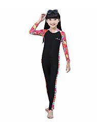 BlueDive® Enfant Costumes humides Combinaison de plongée Wetsuits completsGarder au chaud Séchage rapide Résistant aux ultraviolets Zip