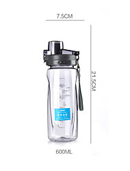 Portable water leak proof cups of large capacity with cover glass Longkou outdoor sports bottle