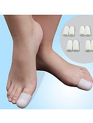 1Pairs Silica Gel Foot Corn Blisters Remover Toe Tube Relief Foot Bunion Pain Toe Finger Protector Caps Soft Cushion