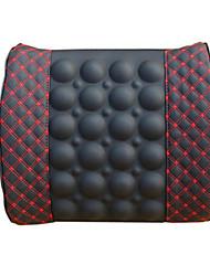 Super fibra de pano carro massagem elétrica almofada de cintura cintura de saúde