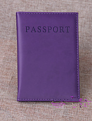 Travel Passport Wallet Luggage Accessory PU Leather