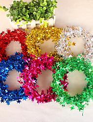 1pcs 7.5m étoiles décoration guirlande pour la fête ou de mariage