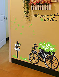 Transportation Wall Stickers Plane Wall Stickers Decorative Wall Stickers,Vinyl Material Home Decoration Wall Decal