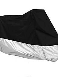 FIRST CLUB 2A0101 Four Seasons General Black Motorcycle Cover Polyester Material Rainproof Dust-proof Mixed Colors
