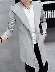 Winter Trench Coat Long Sleeve Cotton