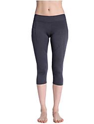 Yoga Pants Bottoms Comfortable High High Elasticity Sports Wear Gray Women's  Yoga Pilates