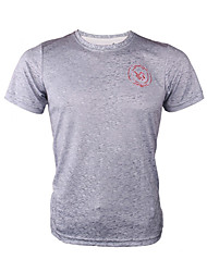 Unisex T-shirt Hunting Breathable Wearable Comfortable Summer Gray