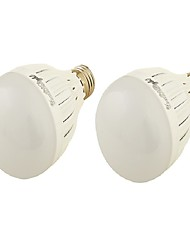 YouOKLight E27 9W 850lm 3000K/6000K 18xSMD5730  WarmWhite/White Light  LED Bulb Lamp(85-265V)/2PCS