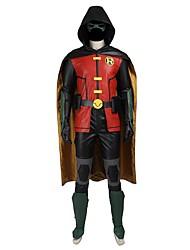 Косплэй Kостюмы Товары для Хэллоуина Костюм для вечеринки Маскарад Супер-герои Bats Косплей Косплей из фильмов красный черный желтый
