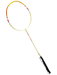 Raquettes de badminton(Jaune,Nylon) -Durable