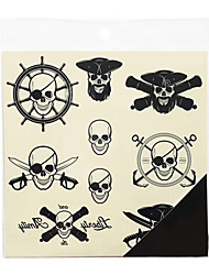 Halloween Large Size PVC Back Tattoo Body Painting Stencils