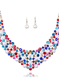 Europe And The United States And The Bride Necklace Earrings
