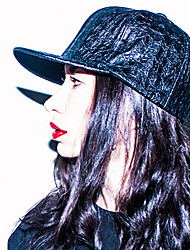 Women's Fashion Punk Style PU Baseball Cap Sun Hat Vintage Casual Holiday Summer All Seasons