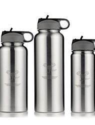 классический спортивный открытый Drinkware, 1000 мл портативный течебезопасн из нержавеющей стали бутылки пива вода
