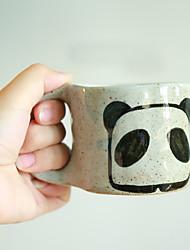 Copos novidade, 180 ml panda caneca de café com leite café cerâmica