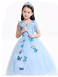 Cosplay Costumes Party Costume Princess Fairytale Festival/Holiday Halloween Costumes Patchwork DressHalloween Christmas Carnival