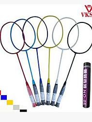 Badmintonschläger Unverformbar Hochelastisch Dauerhaft Leichtes Gewicht für Draußen Training Legere Sport Kohlefaser
