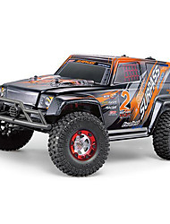 FEIYUE - 02  1/12 2.4G Full Scale SUV 4WD RC Off-road Racing Car - US PLUG  RED  Orange