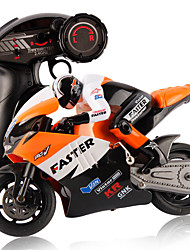 JXD 806 2.4GHz Radio Control 1/16 Scale Motorbike with Inertia Wheel Device  Realistic Shock Absorber