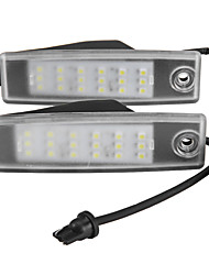 2 X License Plate Light Lamp Error Free 18 3528 SMD LED for Toyota Hiace 200 Regiusace Vanguard ACA33W