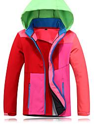 Trilha Jaquetas Softshell Crianças Confortável Primavera Outono Inverno Terylene Ciclismo/Moto Corrida